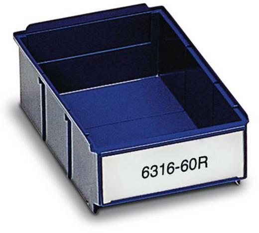 Kleinteilebehälter (B x H x T) 160 x 85 x 400 mm Blau Treston 6416-600R 20 St.