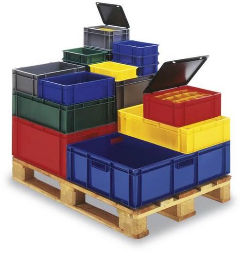 Stapelbehälter lebensmittelgeeignet (L x B x H) 800 x 600 x 320 mm Rot Favorit 1657929 1 St.