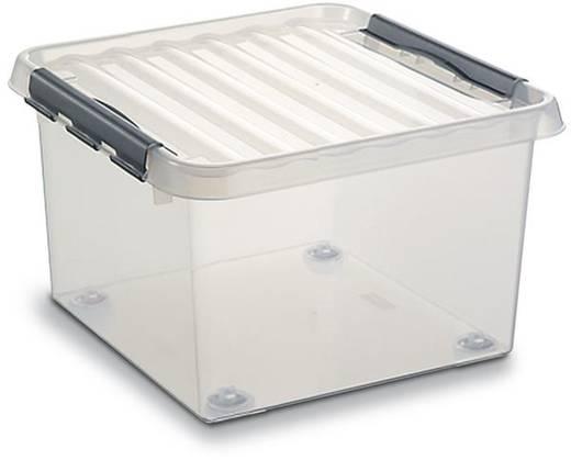 Stapelbehälter (L x B x H) 400 x 400 x 200 mm Transparent 55681 2 St.