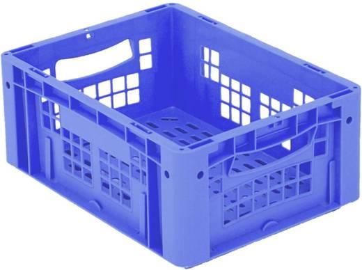 Stapelbehälter lebensmittelgeeignet (L x B x H) 400 x 300 x 170 mm Blau Ergonomic 1658765 1 St.