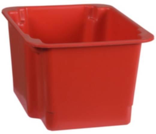 Stapelbehälter lebensmittelgeeignet (L x B x H) 300 x 200 x 150 mm Rot 1658783 1 St.