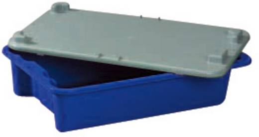 Stapelbehälter lebensmittelgeeignet (L x B x H) 590 x 380 x 135 mm Blau 1658791 1 St.
