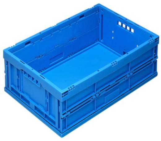 Stapelbehälter lebensmittelgeeignet (L x B x H) 600 x 400 x 220 mm Blau 1658799 1 St.