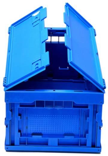 Stapelbehälter lebensmittelgeeignet (L x B x H) 400 x 300 x 220 mm Blau 1658801 1 St.