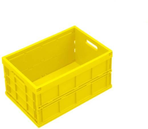 Stapelbehälter lebensmittelgeeignet (L x B x H) 480 x 350 x 240 mm Gelb 1658807 1 St.