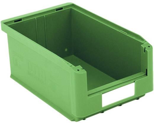 Sichtlagerkasten lebensmittelgeeignet (B x H x T) 210 x 145 x 350 mm Grün Top SK3521-GRÜN 10 St.