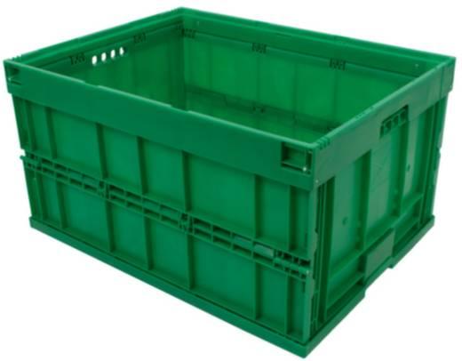 Stapelbehälter lebensmittelgeeignet (L x B x H) 800 x 600 x 445 mm Grün 1658839 1 St.
