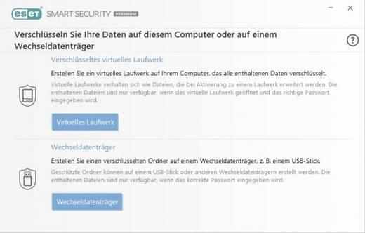 ESET Smart Security Premium 2018 Vollversion, 3 Lizenzen Windows Antivirus, Sicherheits-Software