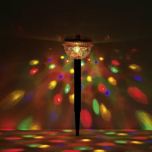 easymaxx Solar-Gartenleuchte 04298 Discokugel 2er Set LED RGB Schwarz