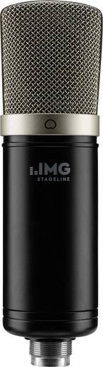 USB-Mikrofon IMG STAGELINE ECMS-50USB Kabelgebunden inkl Spinne, inkl. Kabel, inkl. Tasche