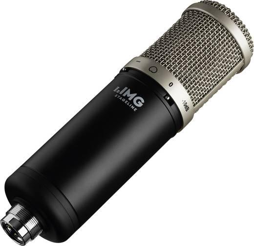 Studiomikrofon IMG STAGELINE ECMS-90 Übertragungsart:Kabelgebunden inkl Spinne, inkl. Windschutz, inkl. Tasche, inkl. K