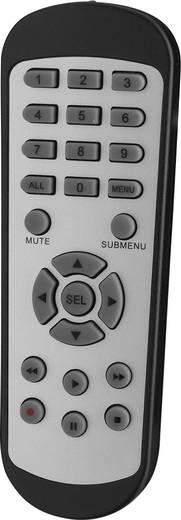 Analog, AHD, HD-TVI Überwachungskamera-Set 8-Kanal mit 4 Kameras 1920 x 1080 Pixel Monacor AXZ-408DV