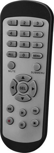 Kabelgebunden, LAN IP-Überwachungskamera-Set 4-Kanal mit 2 Kameras 2048 x 1536 Pixel Monacor IOZ-204BV