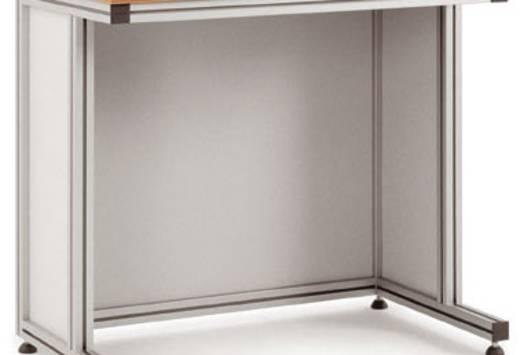 Manuflex ZB8023 Blenden für Pulttisch 1500x600x750 Bestehend aus: 2 x Seitenblende, 1 x Rückblende