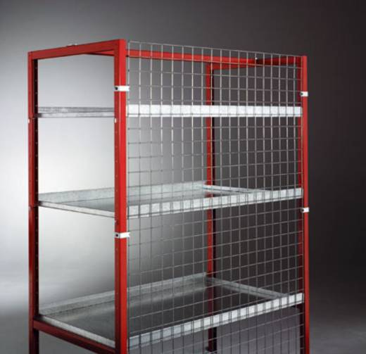 Manuflex TV0421 Drahtgitterrückwand Stahl verzinkt Verzinkt