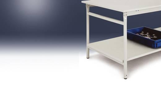 Manuflex ZB3633 Zwischenboden Melamin lichtgrau 930x 675x19mm, mit Unterzug für BASIS 1000x800mm (B x H x T) 930 x 19 x