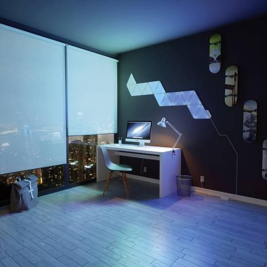 Nanoleaf Aurora Rhythm LED-Lichtpanels Starter-Kit LED fest eingebaut 18 W RGBW Apple HomeKit