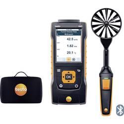 Anemometer testo 440 Set 100 mm 0563 4403, Kalibrované podľa výrobca s certifikátom