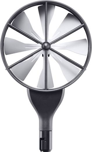 Sonde testo 0635 9370 Hochpräziser 100 mm-Flügelrad-Sondenkopf inkl. Temperatursensor,