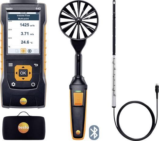 Anemometer testo 440 Set1 0563 4406 Kalibriert nach Werksstandard (mit Zertifikat)