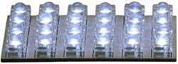 Image of HP Autozubehör 26284 LED Innenraumleuchte 12 V LED (L x B) 65 mm x 35 mm