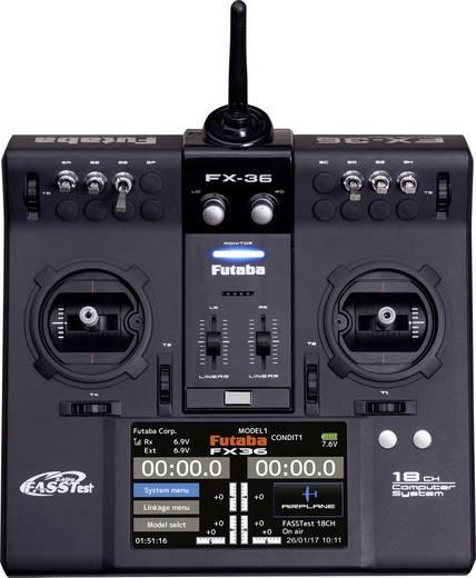 Futaba FX36 Potless Pult-Fernsteuerung 2,4 GHz Anzahl Kanäle: 18 inkl. Empfänger