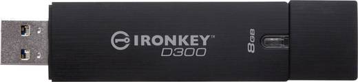 USB-Stick 8 GB Kingston IronKey D300 Schwarz IKD300/8GB USB 3.0