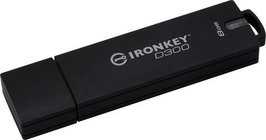 Kingston IronKey D300 USB-Stick 8 GB Schwarz IKD300/8GB USB 3.0