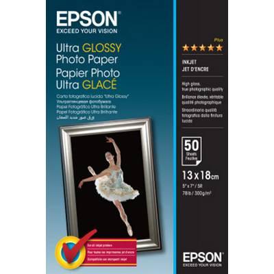 Epson Ultra Glossy Photo Paper C13S041944 Fotopapier 300 g/m² 50 Blatt Hochglänzend Preisvergleich
