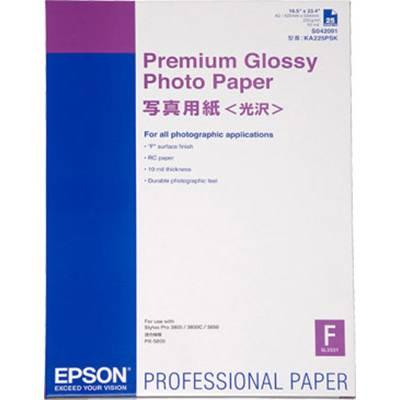 Fotopapier Epson Premium Glossy Photo Paper C13S042091 225 g/m² 25 Blatt Hochglänzend Preisvergleich
