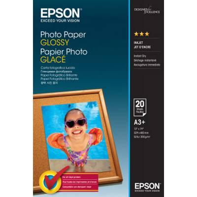 Fotopapier Epson Photo Paper Glossy C13S042535 200 g/m² 20 Blatt Glänzend Preisvergleich