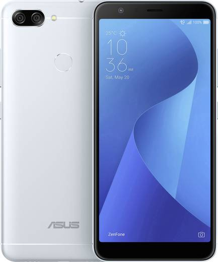 Asus ZenFone M1 LTE-Smartphone 14.5 cm (5.7 Zoll) 1.5 GHz Octa Core 32 GB 16 Mio. Pixel Android™ 7.0 Nougat Silber
