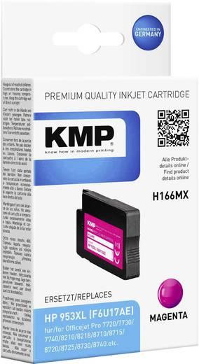 KMP ersetzt HP 953XL, F6U17AE Kompatibel Magenta H166MX 1748,4006