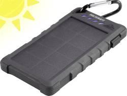 Solární powerbanka VOLTCRAFT SL-80, Li-Pol 8000 mAh, černá
