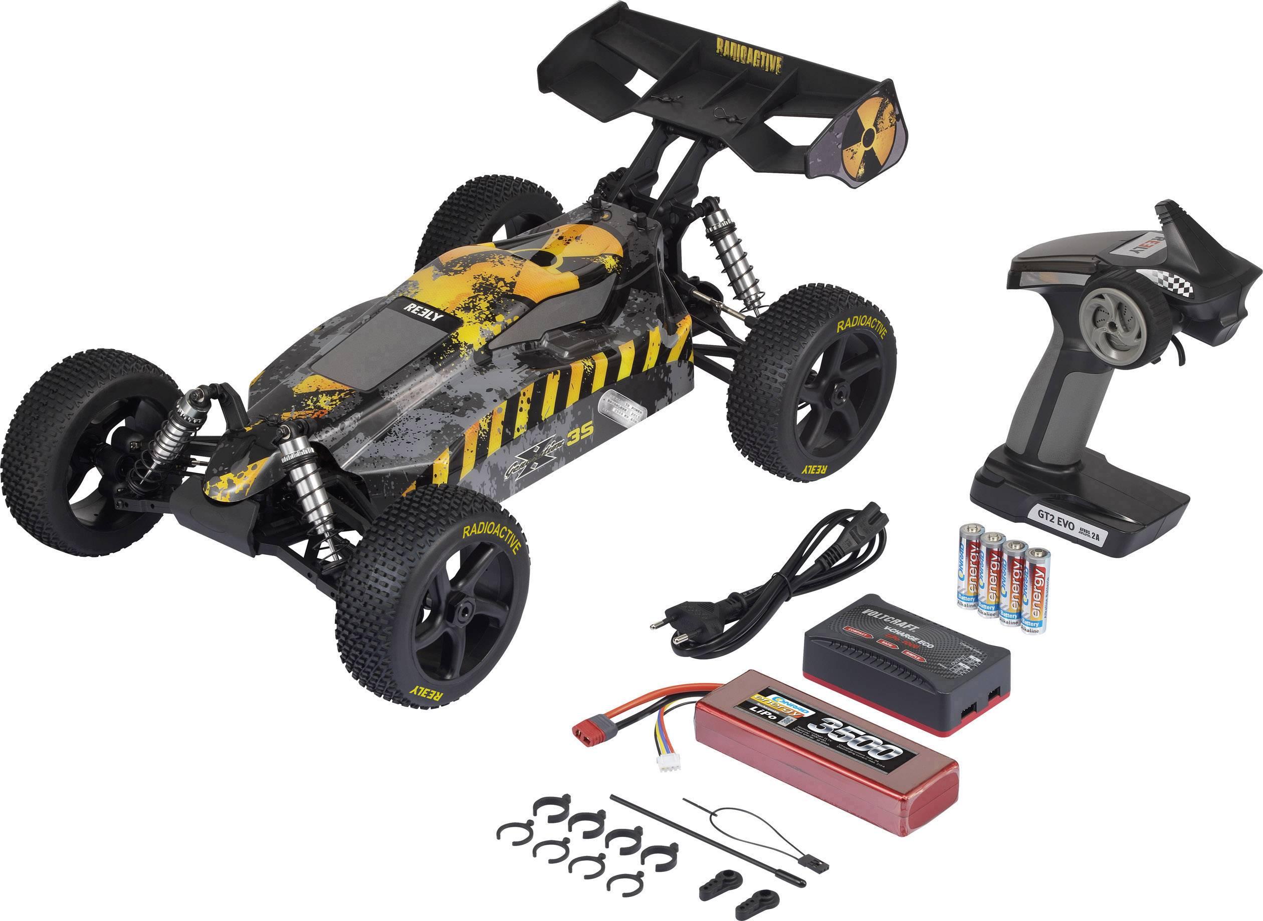 Stoßdämpfer 1 STÜCK Alu hinten für Reely Elektro Buggy Dart 1:10 Brushless Car
