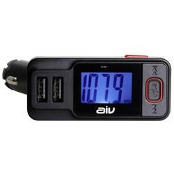 FM vysielač AIV FMT-719 BT-RDS, vr. handsfree, s diaľk. ovládačom