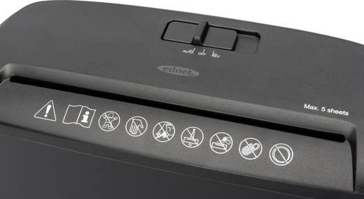 ednet S5 Aktenvernichter Streifenschnitt 7 mm 7 l Blattanzahl (max.): 5 Sicherheitsstufe 1