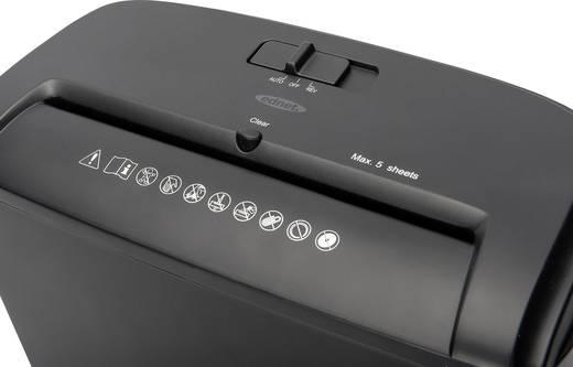 Aktenvernichter ednet X5 Partikelschnitt 4 x 40 mm 10 l Blattanzahl (max.): 5 Sicherheitsstufe 3