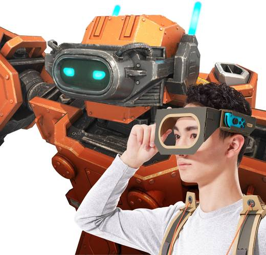 Zubehör-Set Nintendo Switch Nintendo Labo: Toy-Con 02 Robo-Set