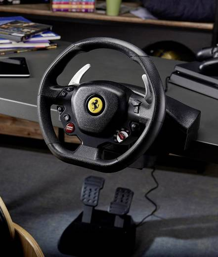 thrustmaster t80 ferrari 488 gtb edition lenkrad. Black Bedroom Furniture Sets. Home Design Ideas