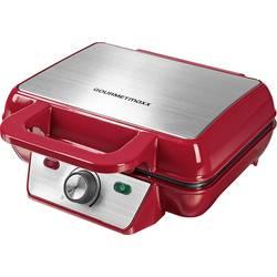 Vaflovač GourmetMaxx 07841 07841, červená
