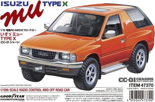 Tamiya Isuzu Mu Brushed 1:10 RC Modellauto Elektro Geländewagen Allradantrieb Bausatz