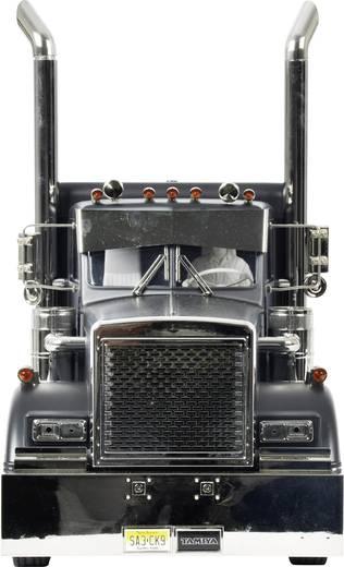 Tamiya 300056356 Grand Hauler Matte Black Edition 1:14 Elektro RC Modell-LKW Bausatz Vorlackiert