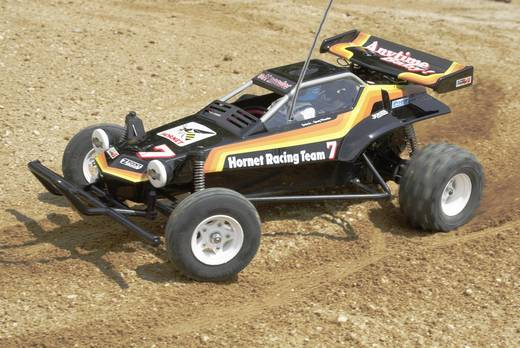 Tamiya The Hornet Brushed 1:10 RC Modellauto Elektro Buggy Heckantrieb Bausatz