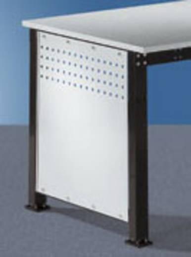 Manuflex ZB3340.7035 Seitenblende 800 (592x628 mm) Ergo/Spezial Licht-Grau