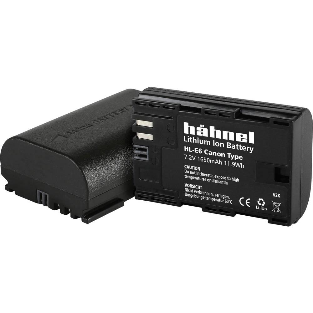 Hähnel HL-E6 Camera-accu Vervangt originele accu LP-E6 7.2 V 1650 mAh