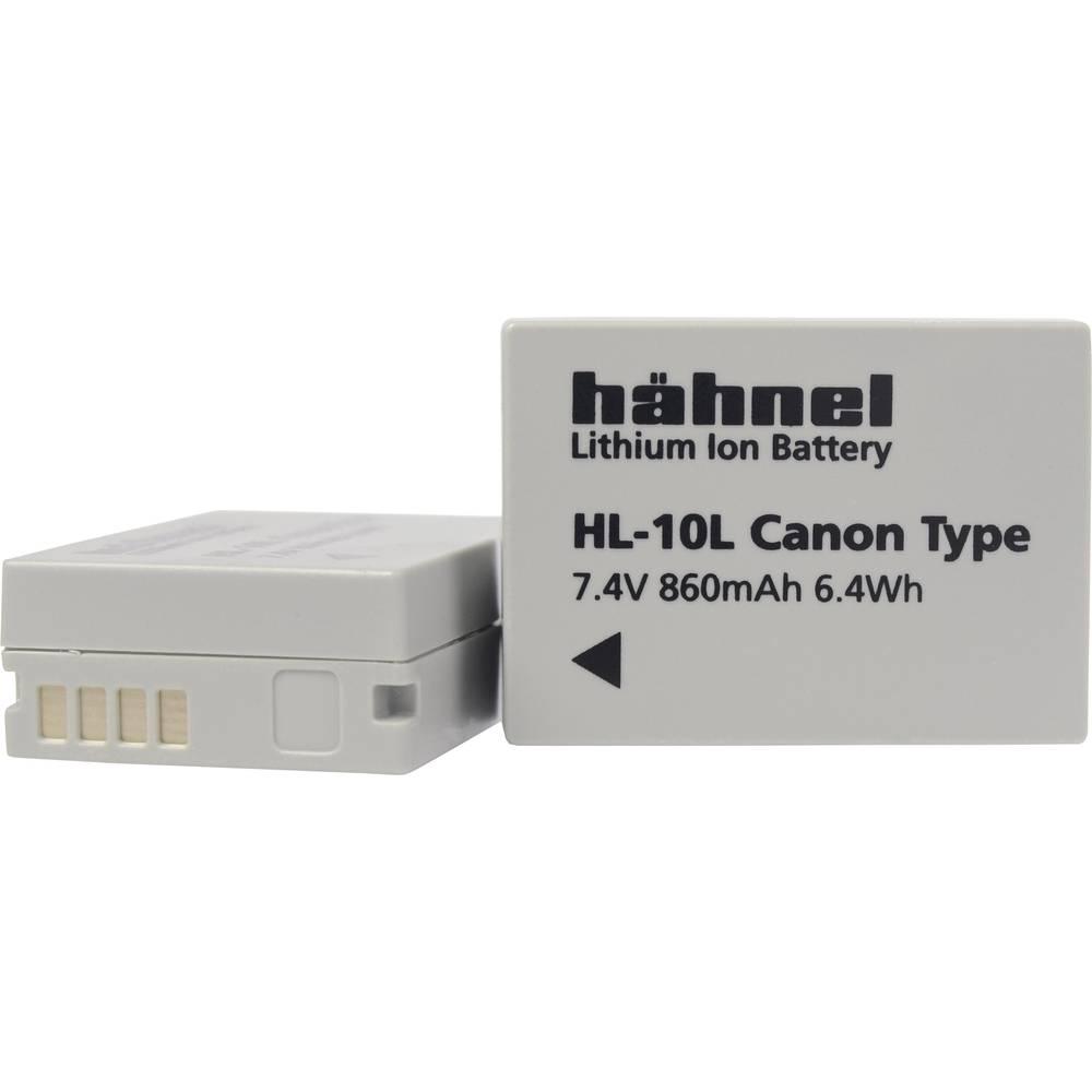 Hähnel HL-10L Camera-accu Vervangt originele accu NB-10L 7.4 V 860 mAh