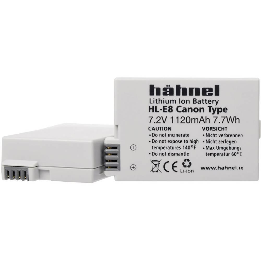 Hähnel HL-E8 Camera-accu Vervangt originele accu LP-E8 7.2 V 1120 mAh