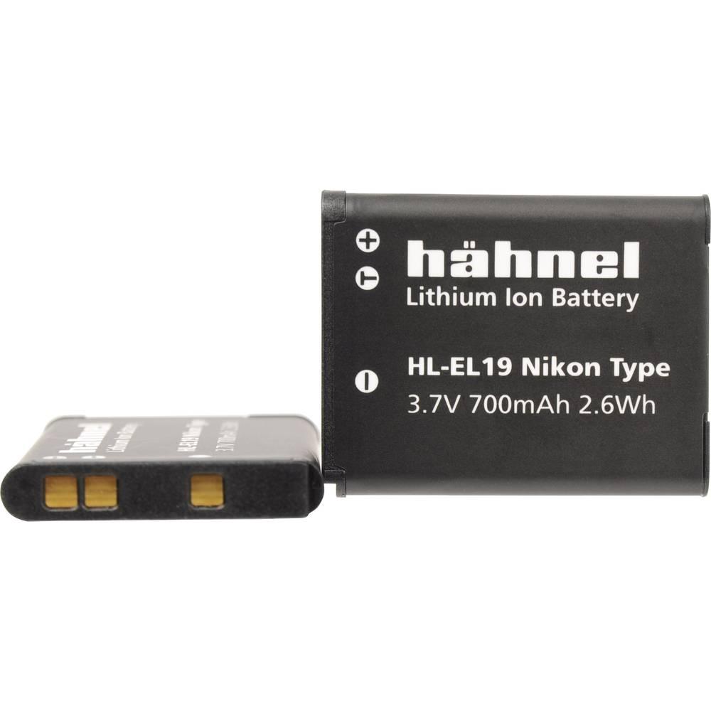 Hähnel HL-EL19 Camera-accu Vervangt originele accu EN-EL19 3.7 V 700 mAh