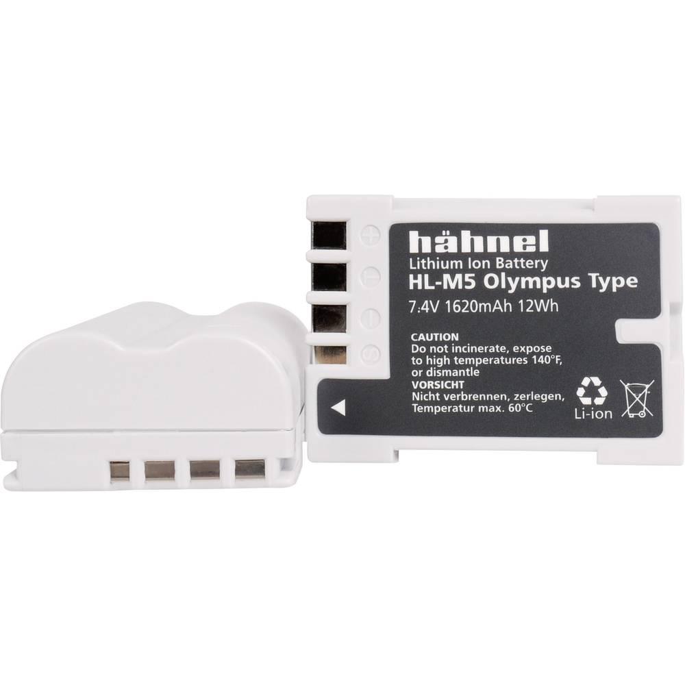 Hähnel HL-M5 Camera-accu Vervangt originele accu BLM-5 7.4 V 1620 mAh